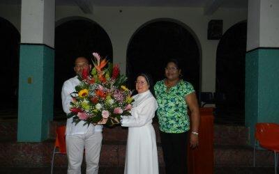 Homenaje a la Rectora Hermana Nubia Teresa Barco Jurado por su Doctorado