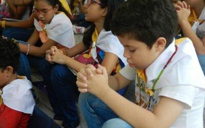 Inicio de Infancia Misionera en Primaria y Preescolar