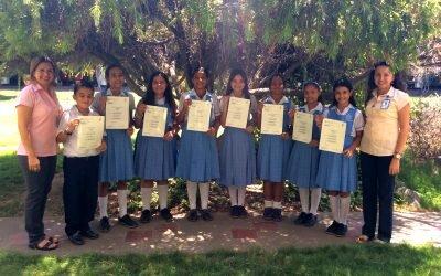 Entrega de Certificados prueba YLE Starters – Cambridge