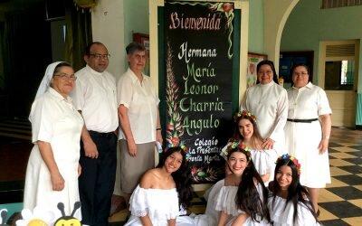 Visita Hna María Leonor Consejera General