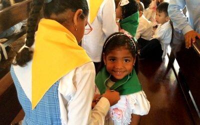 Consagración Infancia Misionera «Trigo Verde» Transición
