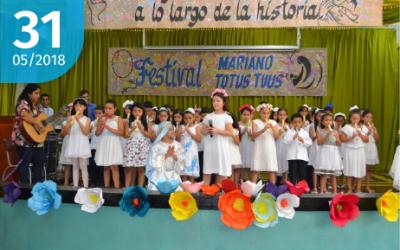 """Festival Mariano de la Canción Inédita """"Totus Tuus"""""""