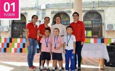 Premiación y clausura de Olimpiadas Deportivas Preescolar