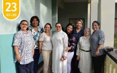 Encuentro y primera reunión entre Hermana Rectora y su equipo de Coordinadoras